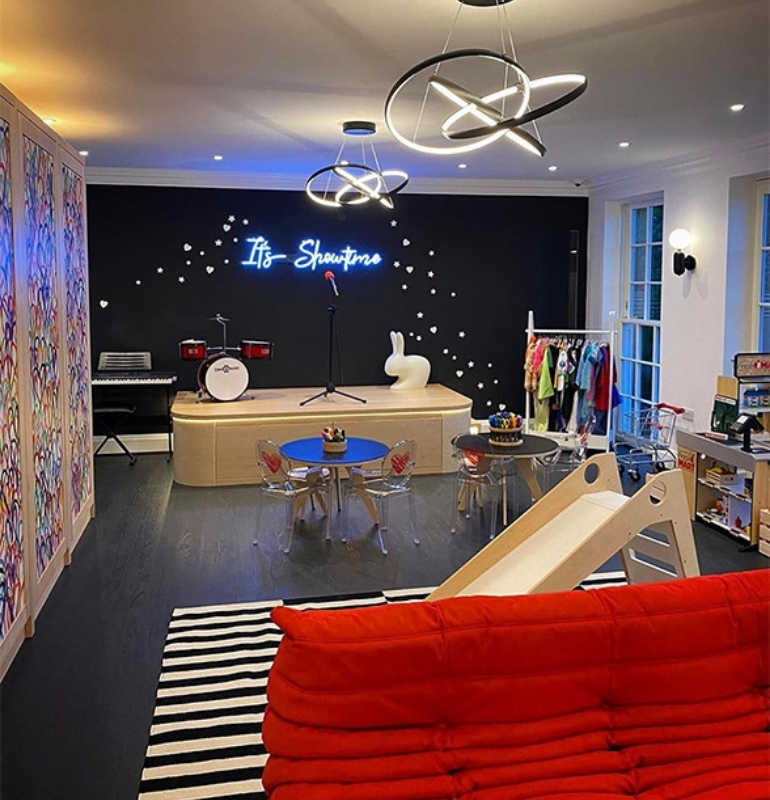 celebrity playrooms - Rochelle Humes