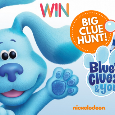 Find the Clues and WIN a HUGE Blue's Clues & You! Prize Pack in our Mega Clue Hunt!
