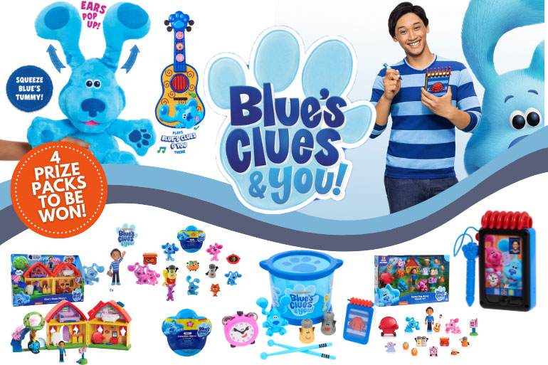 Blue's Clues prize pack
