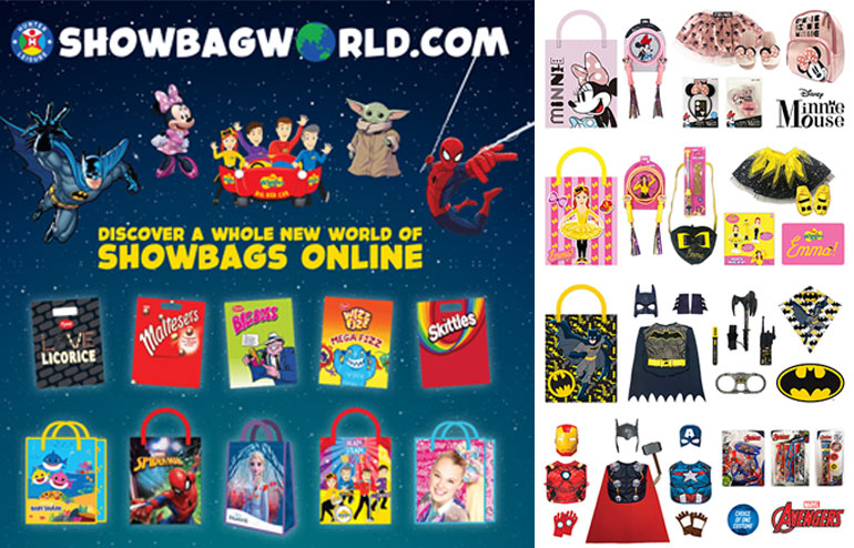 Showbagworld.com for all your showbags