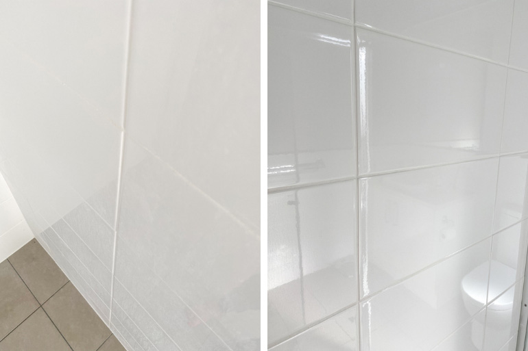 how to clean shower glass