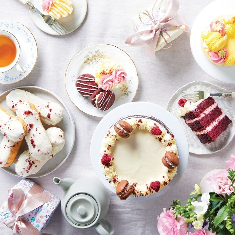 Mother's day high tea at home
