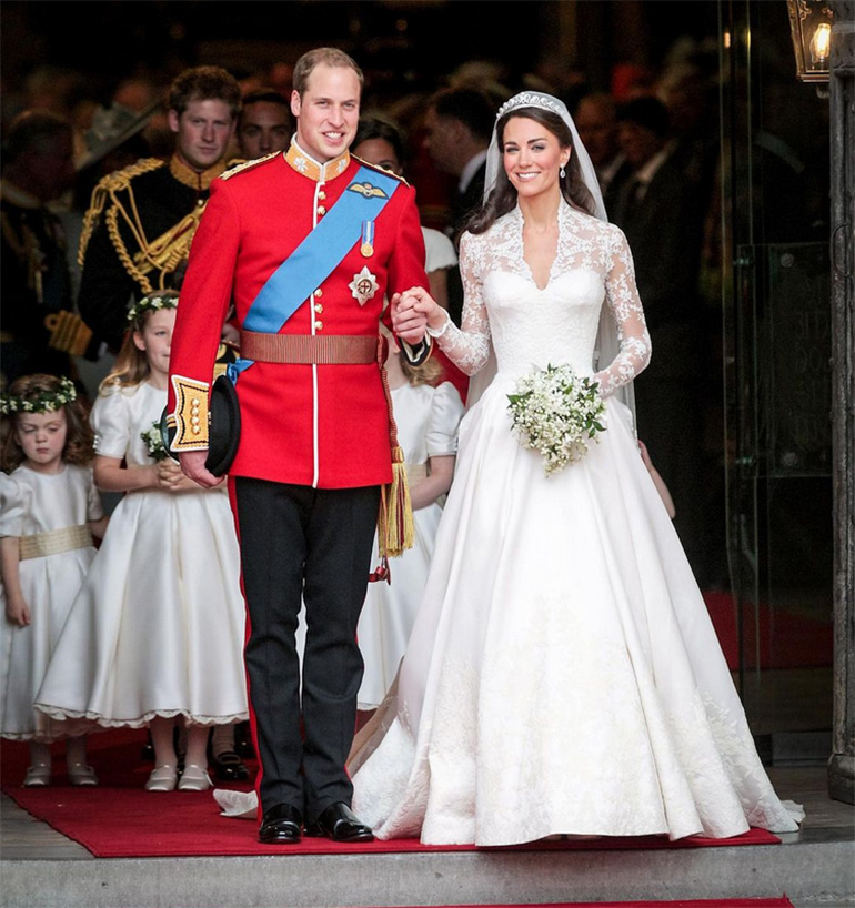 Duke and Duchess of Cambridge anniversary