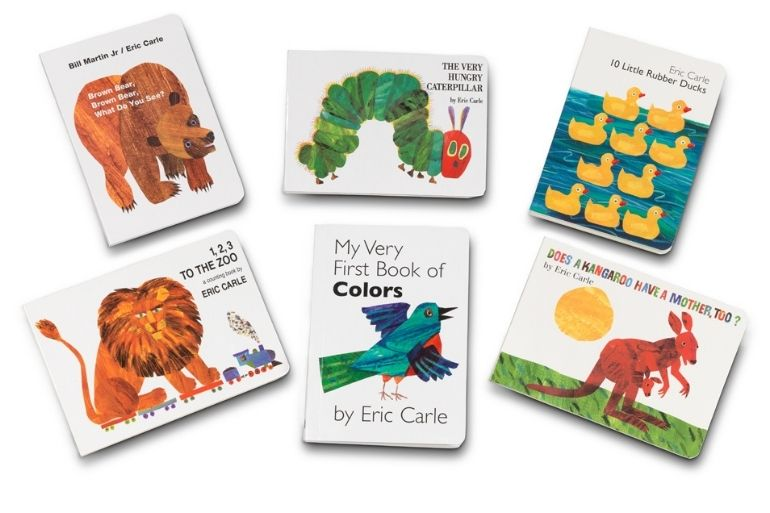 Eric Carle death - book collection