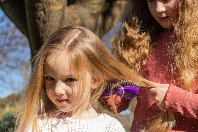 must have toddler products - tangled hair brush