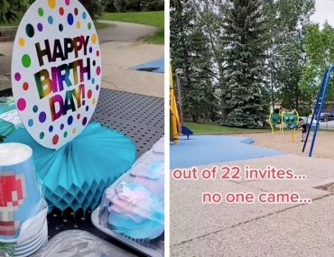 birthday party no show