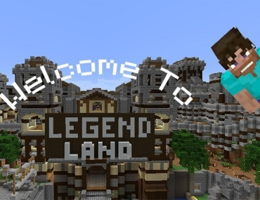 Legend land Minecraft therapy game