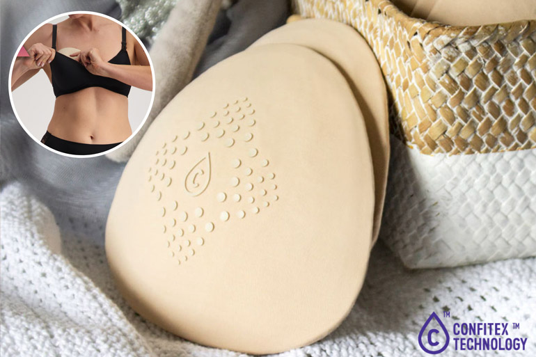 reusable Breast pads for your hospital bag