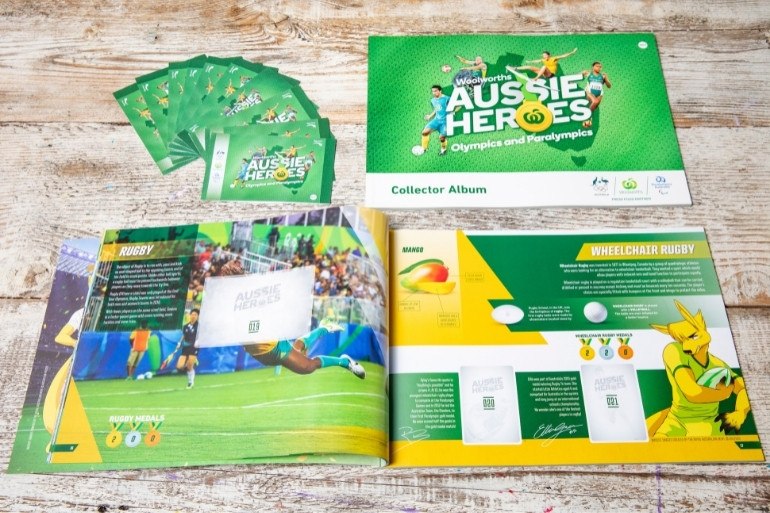 Woolworths olympic collectables
