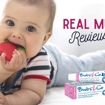 Real Mums Review Bubs & Co Alcohol-Free Teething Gel
