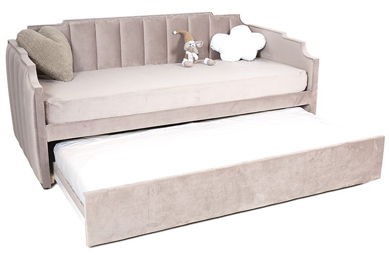 Trundle sofa bed