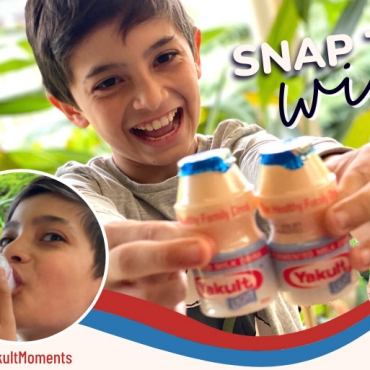 Share Your Yakult Moments to Win an Awesome Prize Pack!