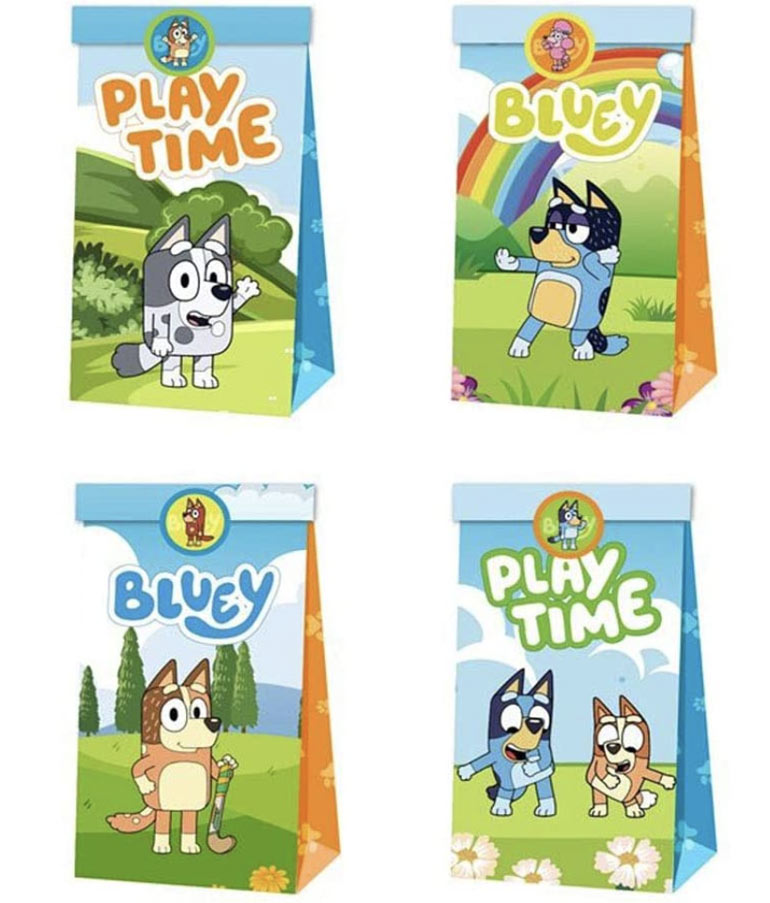 Bluey party supplies