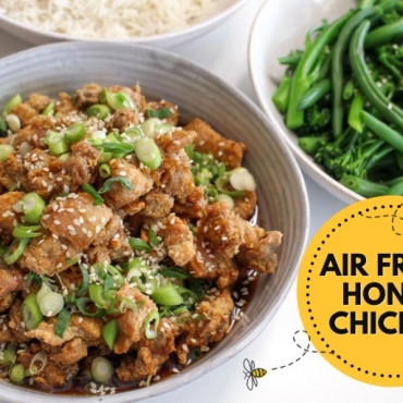 The Air Fryer Crispy Honey Chicken Recipe That's Really Creating a Buzz!