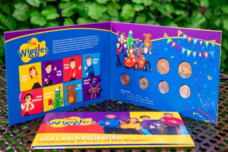 Wiggles coin collection - Woolworths