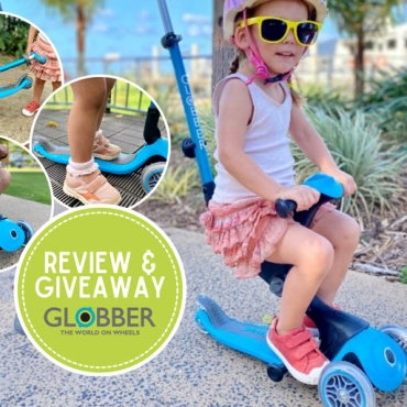 REVIEW: Globber Go Up Deluxe – Transforms from Ride-On to Walking Bike to Scooter