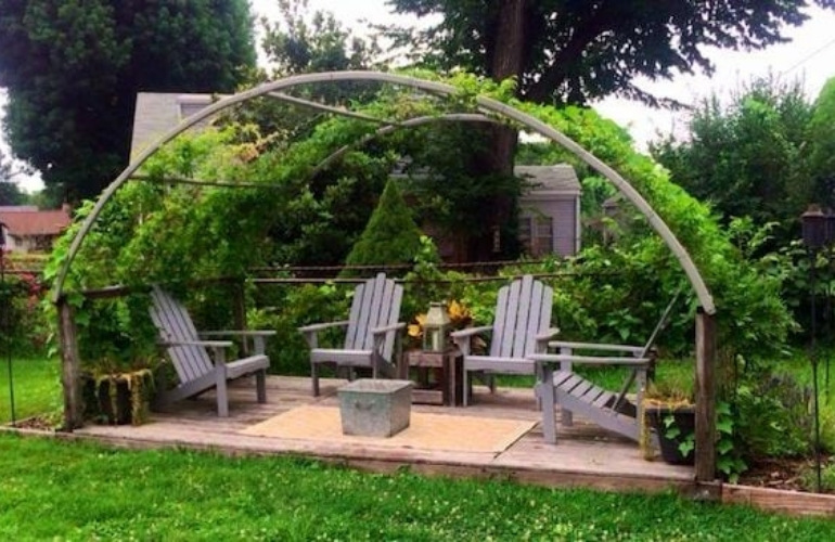 Trampoline recycled ideas