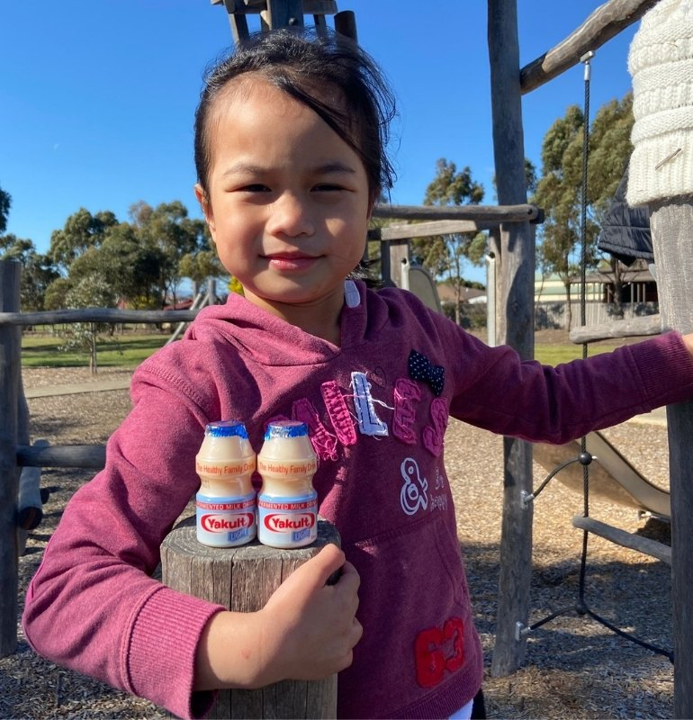 Yakult Light probiotic drink for kids and adults