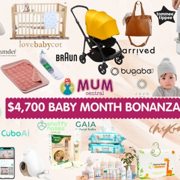 17 Newborn Baby Must Haves: Win BIG in our Huge $4,700+ Baby Month Bonanza