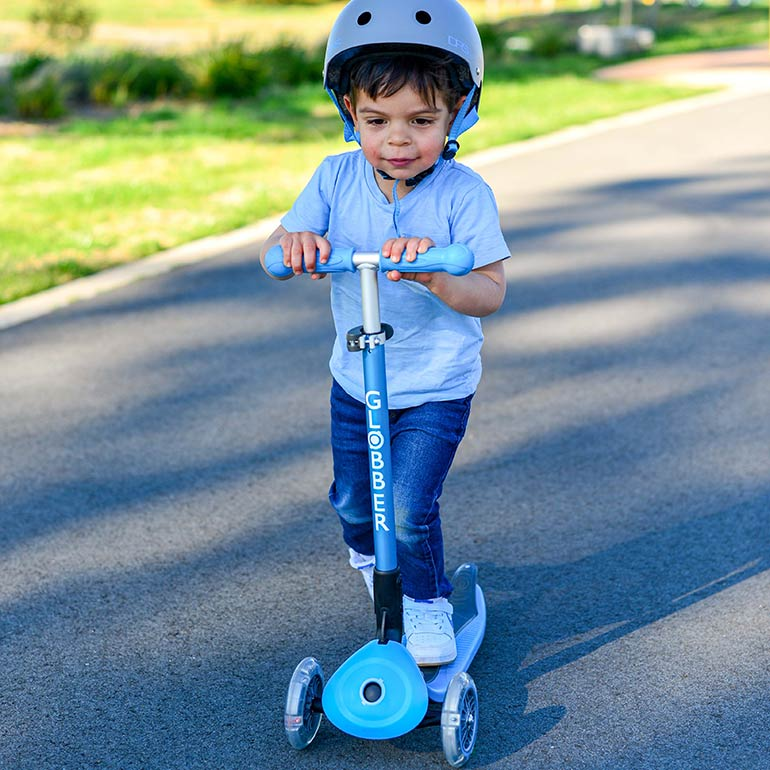 Globber Primo Scooter Review - foldable scooter for preschoolers