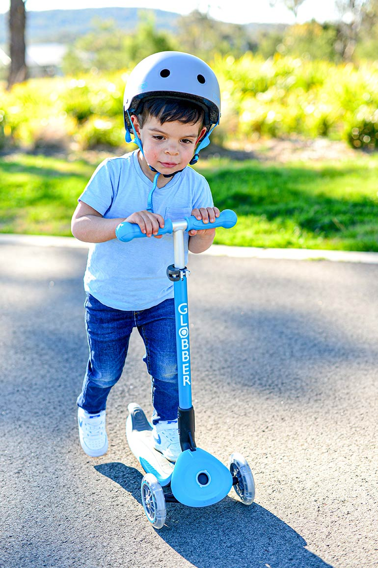 Globber Primo three-wheel scooter review