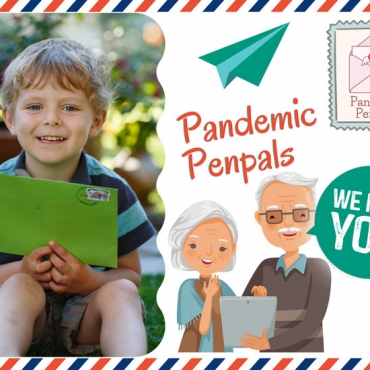 Pandemic Penpals: Let's Connect our Kids with the Elderly During Lockdown